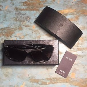PRADA Black Sunglass